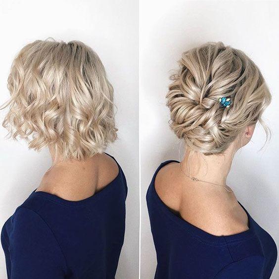 hochzeitsfrisur-kurzes-haar-zusammengesteckt